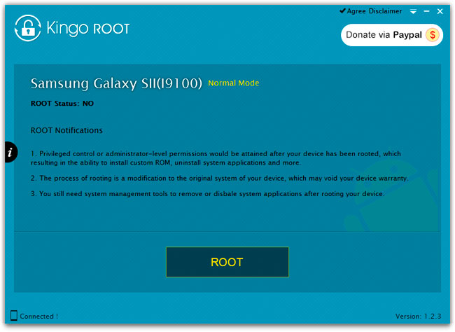 root TeXet TM-7052
