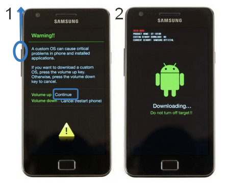 Boot Samsung Galaxy Devices into Download (2)