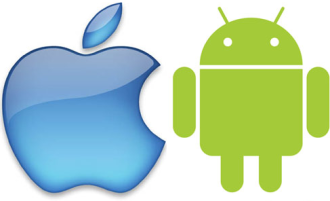 Apple-Android-Logos