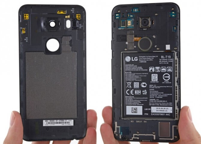 Nexus-5X-Smartphone-Teardown-By-iFixit