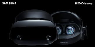 Samsung представила гарнитуру для Windows Mixed Reality