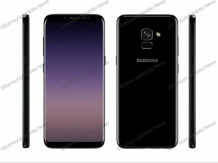Galaxy A5 и A7 2018 оснастят Infinity Display